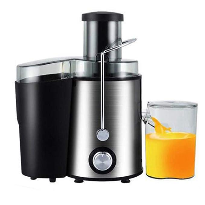 WGFGXQ Large-Capacity All-Steel Juicer, 250W Power Fruit Vegetable Juicer