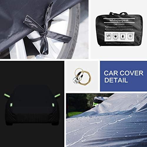 Autoabdeckung Ford Mustang Car Cover Spezielles Autoplanen Car Cover Regendicht Sonnencreme Verdickung Isolierung Car Cover Farbe Schwarz Küche Haushalt