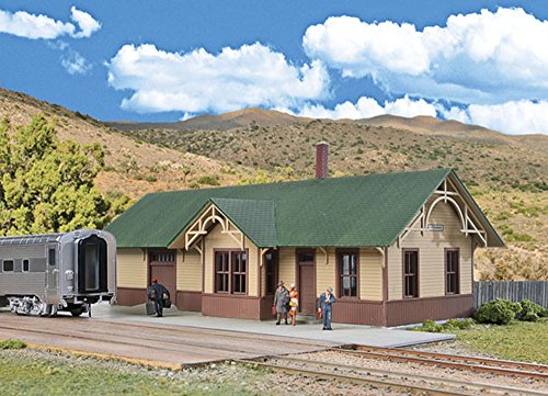 Walthers Cornerstone UP-Style Depot Train ()