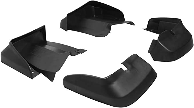 2007 2008 2009 2010 Factory Style PU Black Bodykit by IKON MOTORSPORTS Splash Guard Compatible With 2006-2011 HONDA CIVIC 4DR