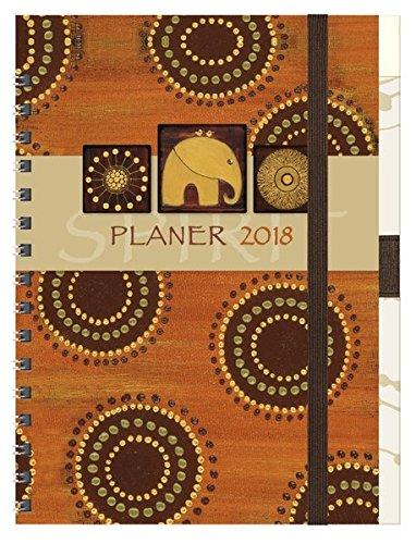 Planer Spirit 2018: Familientimer-Buch mit 5 Spalten, Ferienterminen und Jahresübersicht 2019