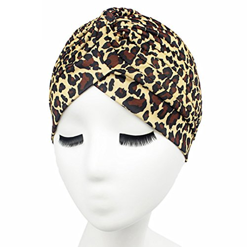 Women Indian Stretchy Turban Colorful Head Wrap Chemo Hat - Indian Online Shopping
