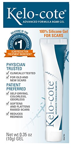 Kelo-Cote Advanced Formula Scar Gel, 10 Grams (Pack of 6)