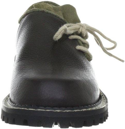 Wolpertinger W07064-1 Unisex-Erwachsene Derby Schnürhalbschuhe Braun (Pit Stop brown)
