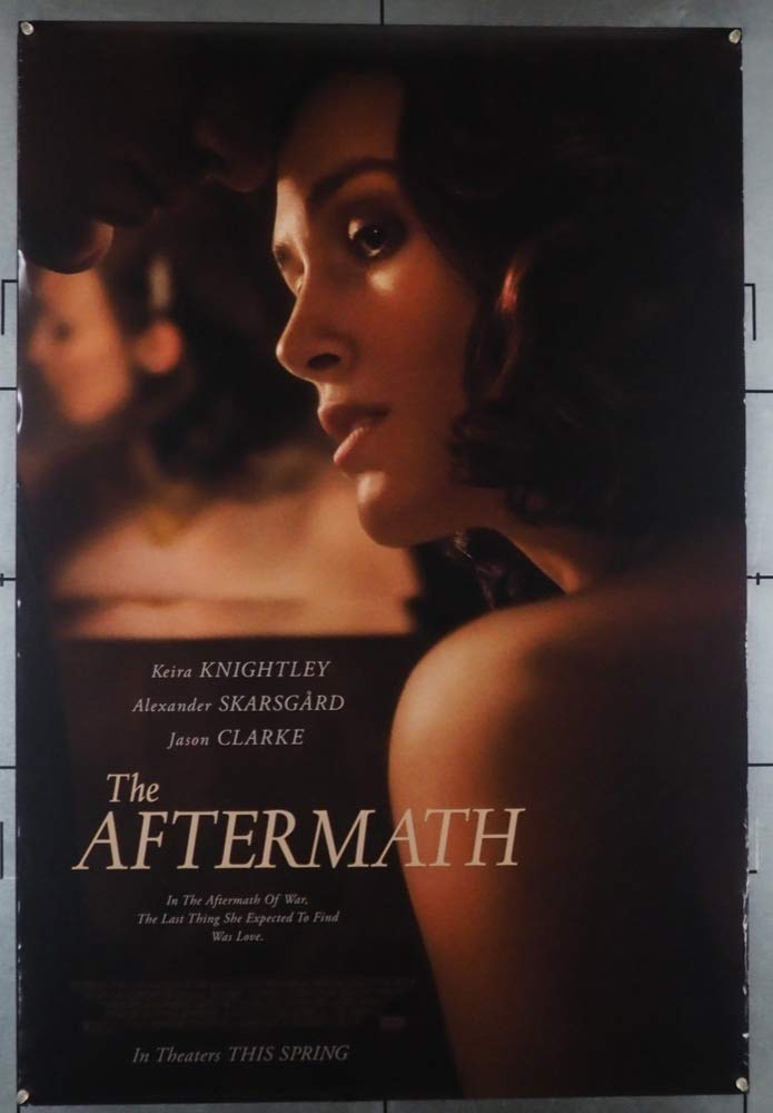 The Aftermath (2019) Original One Sheet Movie Poster Not a DVD