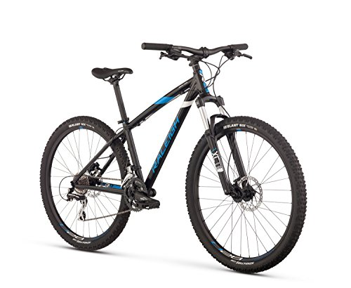 Raleigh Bikes Raleigh Ziva Women's Mountain Bike, 13″ Frame, Black, 13″ / X-Small
