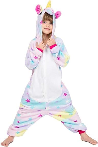 Niños Onesies Niños Unicornio Pijamas para niños Niñas ...
