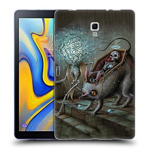 Official Jason Limon No Mans Land Skull Soft Gel Case for Samsung Galaxy Tab A 10.5 (2018)