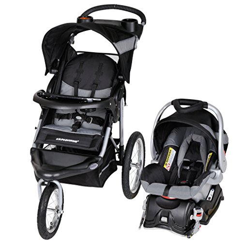 Baby Trend Expedition Jogger Travel System, Millennium White (Best Rated Strollers 2019)