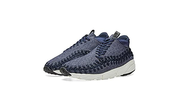 size 40 f387b b7c08 Amazon.com   NIKE Men s Air Footscape Woven Chukka SE Obsidian Black-Sail- Black 857874-400 Shoe 13 M US   Fashion Sneakers