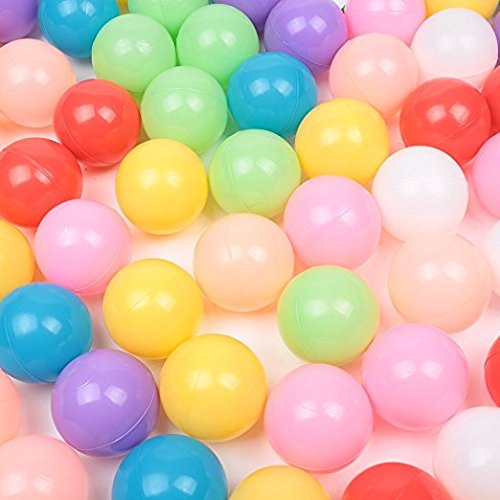 Real Relax 200pcs 5.5cm Colorful Ball Soft Plastic Ocean Ball for Baby Kid by Real Relax (Image #3)