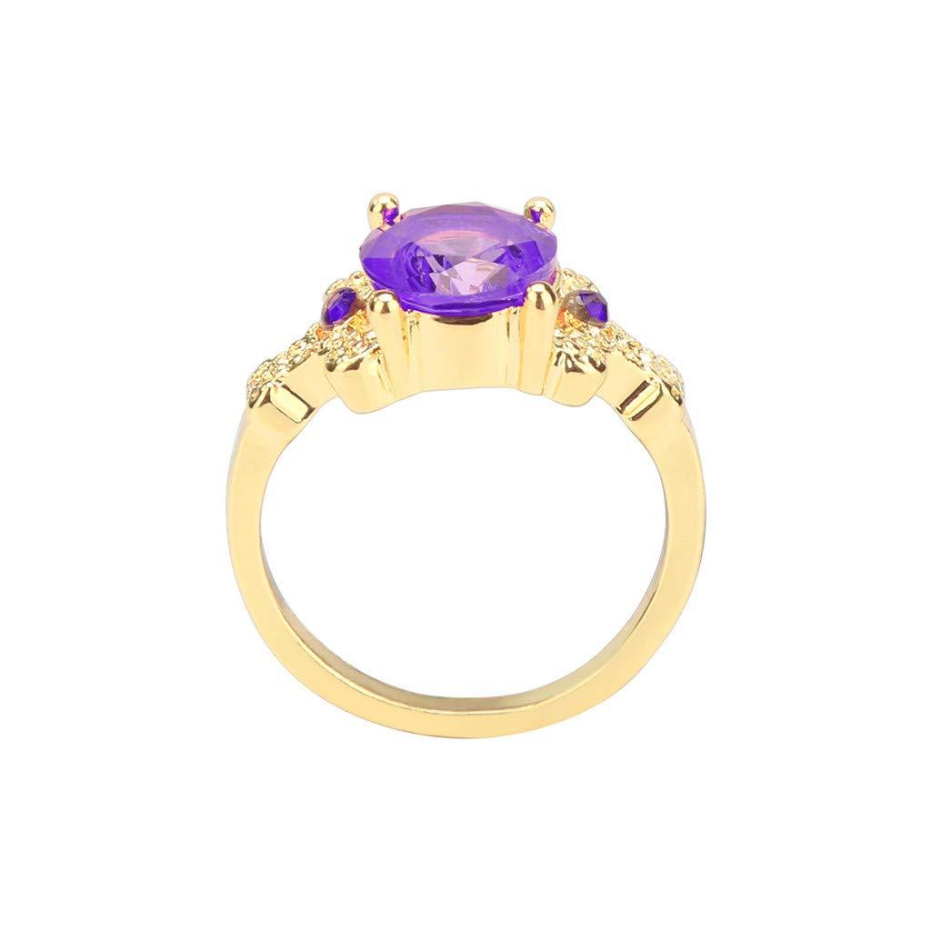 df878a76d Amazon.com: GzxtLTX ladies rings for large fingers ladies rings jade ladies rings  Pandora (Purple,8): Home Improvement