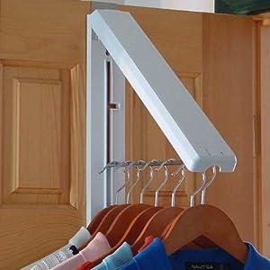 Instahanger Foldaway Over Door Hanging Rail Amazon Co