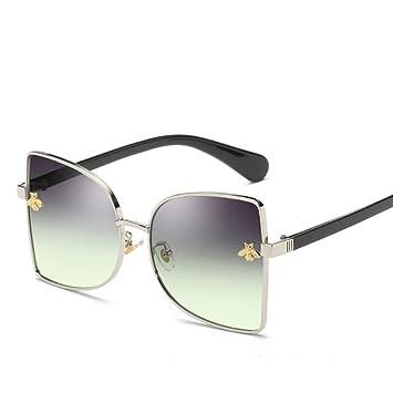 Gafas De Sol Nueva Marca Tendencia Poco Bee Square Diseñador ...