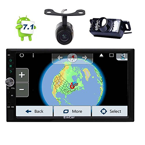 EinCar Android 7.1 Stereo System 7'' Double 2 Din Car Auto R