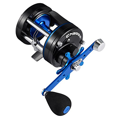 Piscifun Chaos Round Baitcasting Reel 50 Left Handed