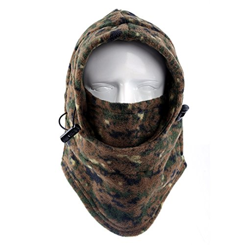 DDLBiz Winter Heavyweight Warm Windproof Balaclava Outdoor Sports Mask (Style 01)
