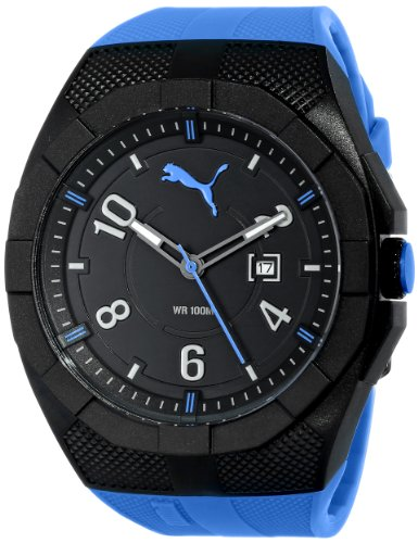 Puma Men's PU103501004 Watch with Blue Band (Watches Puma Man)