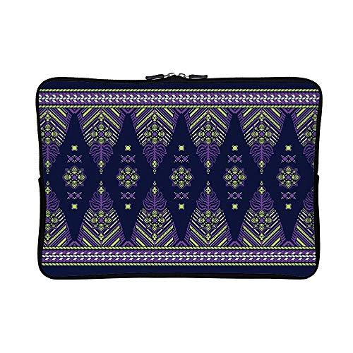 ee5b7d23ca05 DKISEE Songket Pandai Pattern Neoprene Laptop Sleeve Case Waterproof Sleeve  Case Cover Bag for MacBook/Notebook/Ultrabook/Chromebooks