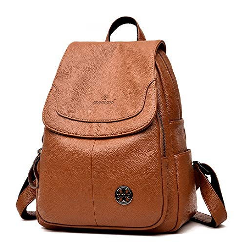 Femme porté Backpack Sac Marron Goooodtrry pour Dos à Main Marron au Marron Goooodtrry 10tq61