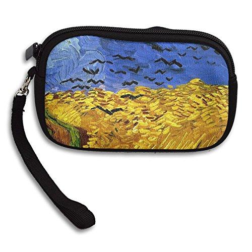 Full Harvest Comfortable Coin Purse Storage Package Wallet Zipper Change Holder Bag Key Wristlet Wallet Handbag Wallet Zipper Mini Wallet For Men & Women