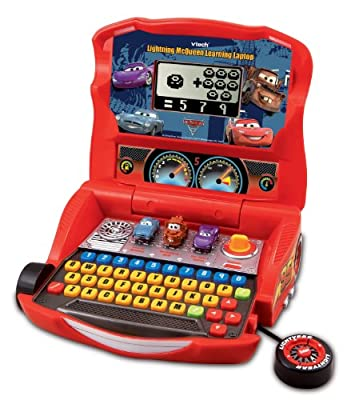 Vtech - Disneys Cars - Lightning Mcqueen Learning Laptop by V Tech