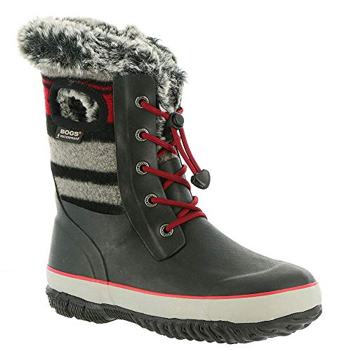 Bogs Kids Arcata Stripe Boot Red Multi 2