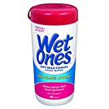Wet Ones Antibacterial Hand Wipes Fresh Scent 40 CT (Pack of 9)