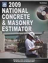 National Concrete & Masonry Estimator [With CDROM] (National Concrete & Masonry Estimator (W/CD))