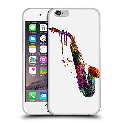 Officiel Mark Ashkenazi Saxophone Musique Étui Coque en Gel molle pour Apple iPhone 6 / 6s