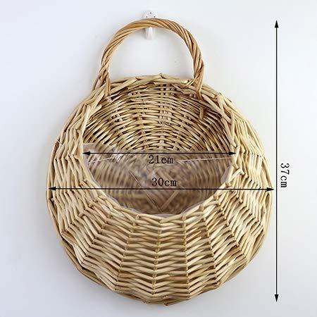 Growers Hanging Basket Indoor Outdoor Hanging Planter Basket for Patio, Garden, Balcony, Living Room, Bedroom 11.8