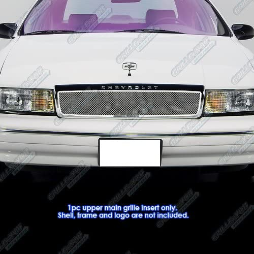 Larson Electronics 1015P9IQGV4 100W Halogen Passenger Side with Install kit 6 inch 1990 Chevrolet Caprice Post Mount Spotlight -Chrome