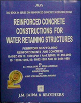Amazon in: Buy Reinforced Concrete Constructions For Water Retaining