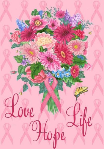 Love Life Hope Awareness Decorative