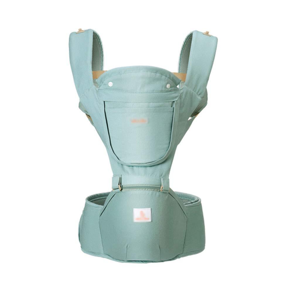WESEASON Abnehmbare Baby-Carrier Reise Zu Fuß Baumwolle Baby-Träger Komfortabel Und Ergonomisch Kind Und Neugeborene Sling Multi-Position Trage Tuch