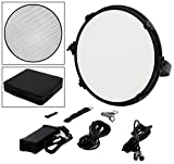 Fotodiox Pro FACTOR Jupiter18 VR-2500ASVL Kit - Bicolor Dimmable Studio Light with Grid and Carrying Case