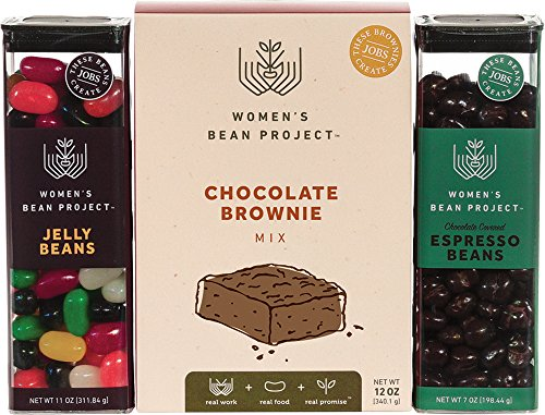 Women's Bean Project Chocolate Brownie Mix, Jelly Beans an