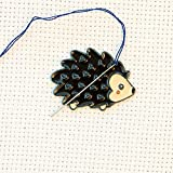 Cute Hedgehog Enamel Needle Minder