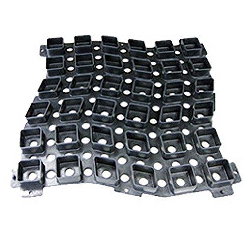 【10枚入】せきそうフィット 520x520x33.5 玉砂利固定具 砂利 舗装 敷 WPT 代可 B071YN5TDY