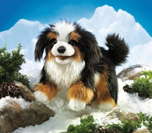 Folkmanis Puppet Bernese Mountain Dog