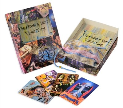 Voice Processing Card - NoMonet Artist's Inner Vision Tarot Deck, Book and Bag Set