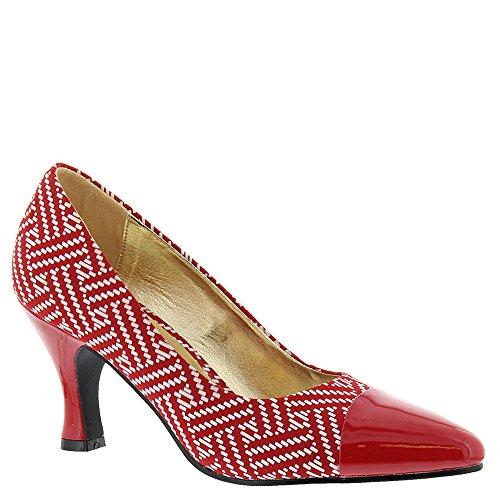 Bellini White À Femmes Red Chaussures Zia Talons U8qpYU