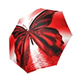 Hot Sale Beautiful Butterfly Foldable Umbrella Compact Umbrella