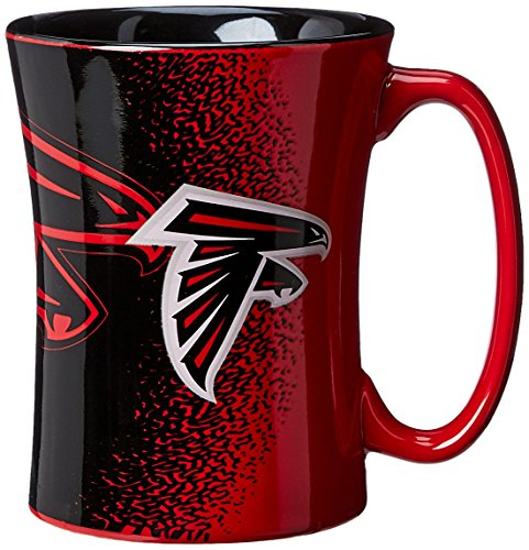 Atlanta Falcons Ceramic (NFL Atlanta Falcons Sculpted Mocha Mug, 14-ounce)