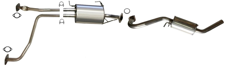 2002 nissan pathfinder exhaust system