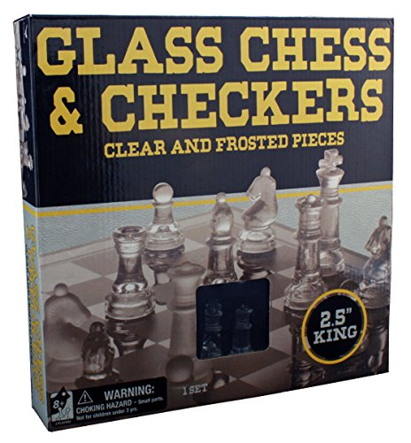 Classic Glass Chess Checkers Strategy