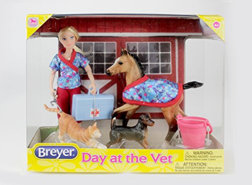 Breyer Classics Day at The Vet Doll & Animals Set