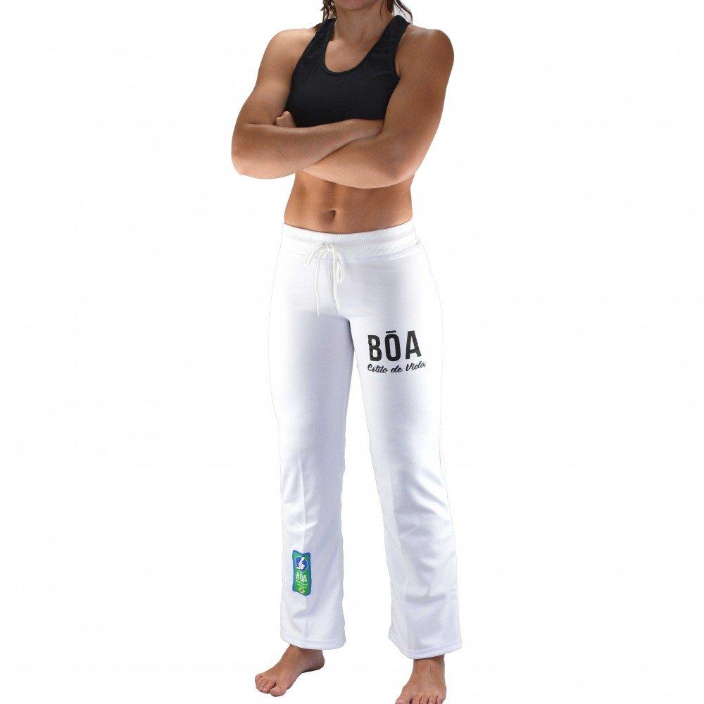 Bõa Pantalone Capoeira Donna - S, Bianco 3760030408487