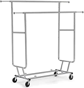 Yaheetech Commercial Clothing Garment Rack