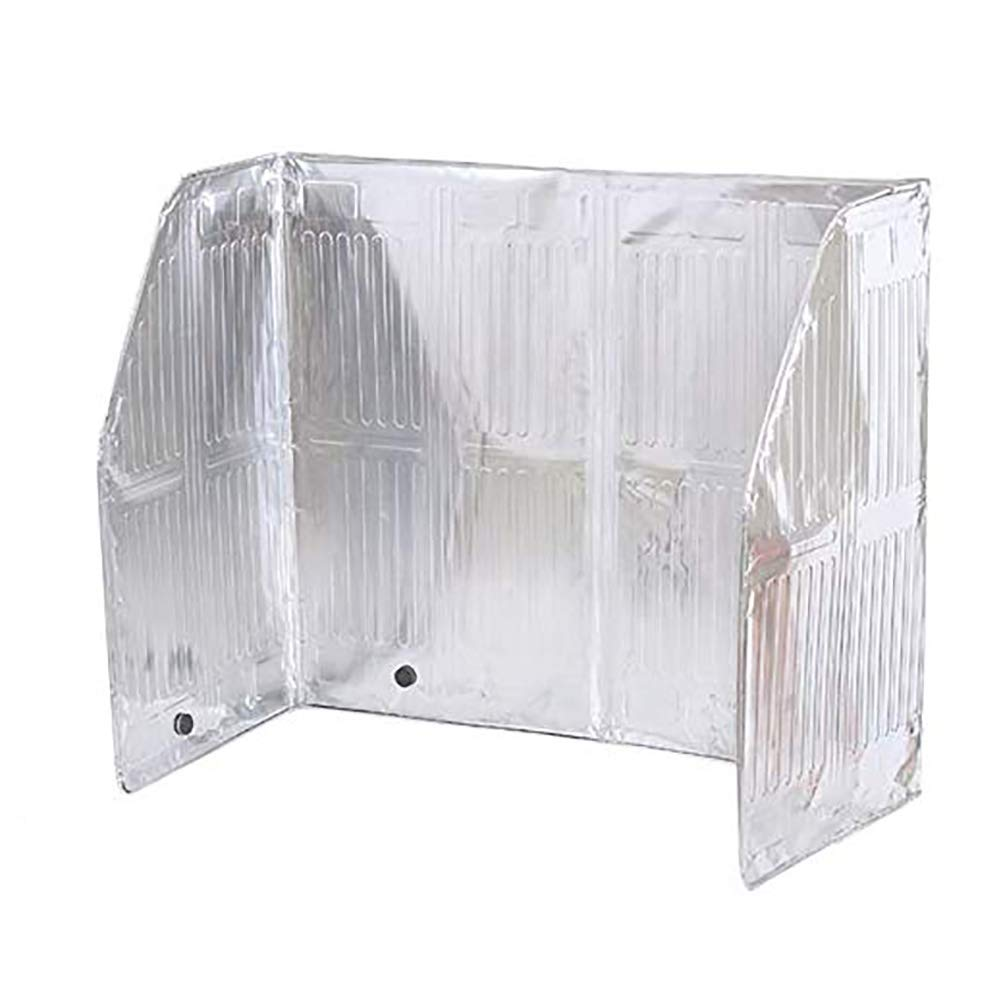 Wxnnx Oil Splash Guard, Aluminum Foil Gas Stove Shield Oil Splatter Screen, Kitchen Tool,120 X 50Cm by Wxnnx